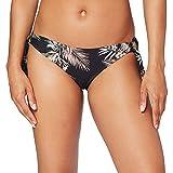 Seafolly Ocean Alley Loop Side Hipster Braguita de Bikini, Negro (Black Black), 38 (Talla del Fabricante: 10) para Mujer