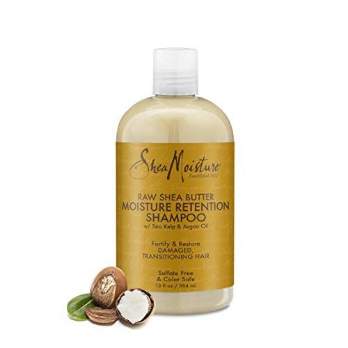 Shea Moisture Raw Shea Butter Moisture Retention Shampoo, 1er Pack (1 x 384 ml)