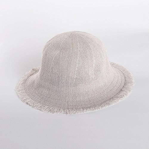 Unbrace hoeden, zonnecrème, eenkleurig, casual, dames, wildcrème, donkerblauw