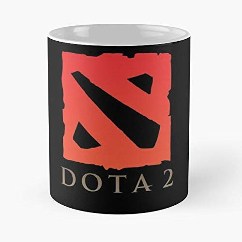 Coona Pc Gaming Dota MOBA Valve LOL Videogames Steam Best 11 oz Kaffeebecher - Nespresso Tassen Kaffee Motive