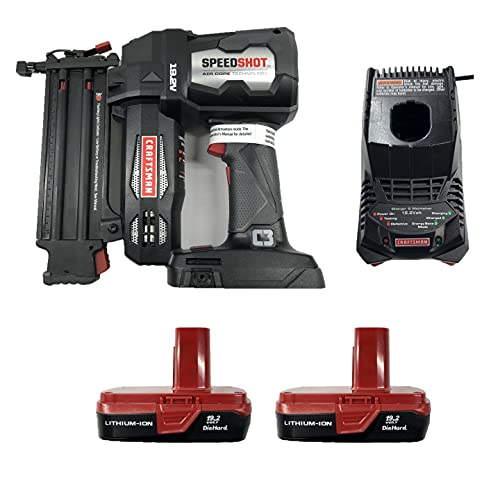 Craftsman C3 19.2 Volt 18 Gauge Brad Nailer Combo Kit with 2 Batteries and a Charger (Bulk Packaged) 315.FS2000/42980