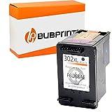 Bubprint Kompatibel Tintenpatrone als Ersatz für HP 302 302XL DeskJet 3636 2130 3630 1110 Envy 4525 4520 OfficeJet 3831 3830 4655 Multifunktionsdrucker