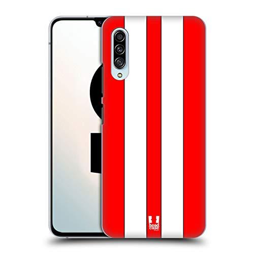 Head Case Designs Roter Rennenwagen Transportmittel Farbig Harte Rueckseiten Handyhülle Hülle Huelle kompatibel mit Samsung Galaxy A90 5G (2019)