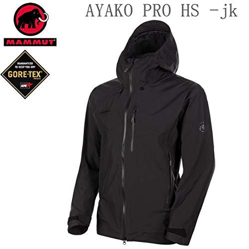 MAMMUT マムート メンズ ジャケット ゴアテックス GORE-TEX AYAKO PRO HS HOODED Jacket 1010-27550 BLACK ...
