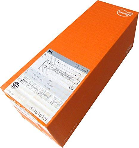mungo Lochsteindübel ML 10 x 120 #1101012F 1 Pack mit 50 Dübel Nylondübel