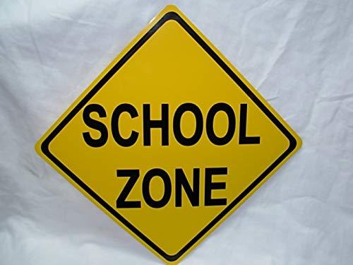 School cheap Zone Xing Mini Metal New popularity Street Children NEW Road Sign 6