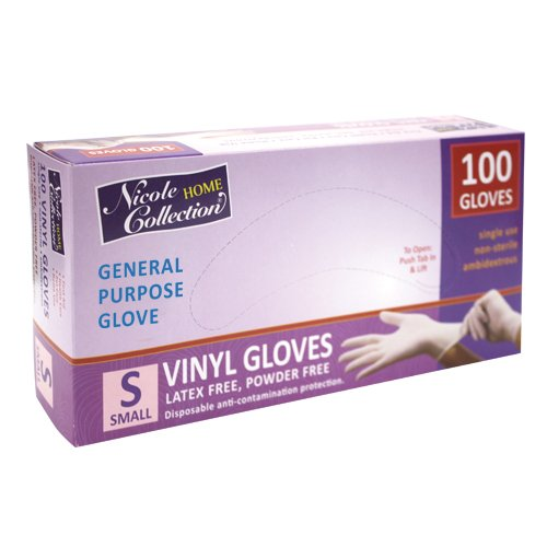 Vinyl Gloves | Small Size | Pack of 100