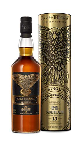 Mortlach 15 Jahre, Single Malt Whisky, 1x0,7l, The Six Kingdoms - Game Of Thrones Limitierte Edition