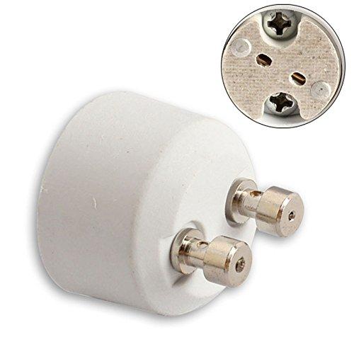 MASUNN Gu10 À Mr16 Socle Adaptateur Ampoule Halogène Porte-Convertisseur Lampe