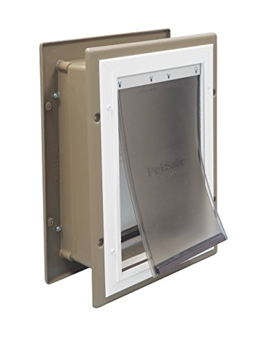 PetSafe Wall Entry Pet Door with Telescoping Tunnel
