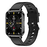 Smartwatch 1.7'' Full Screen Orologio Orologio Fitness Tracker Uomo Donna, Bluetooth Smart Watch Cardiofrequenzimetro da Polso Schermo Orologio Fitness Impermeabile IP68 Activity Tracker