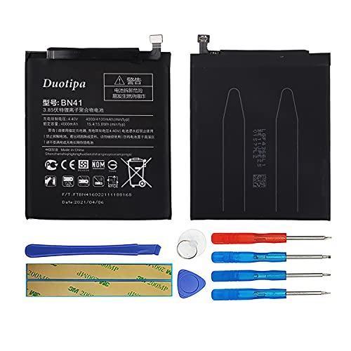 Duotipa Batería de repuesto BN41 compatible con Xiaomi Redmi Note 4 batería con herramientas