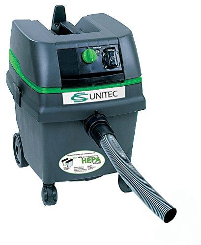 C.S. Unitec CS 1225 H 6.6 gal HEPA Wet/Dry Industrial Vacuum Cleaner, Green