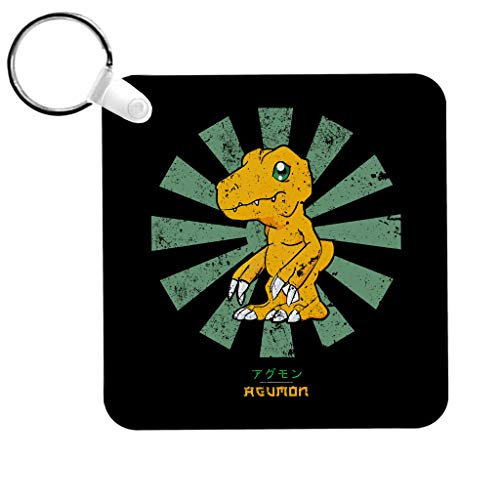 Cloud City 7 Agumon Retro Japanese Digimon Keyring