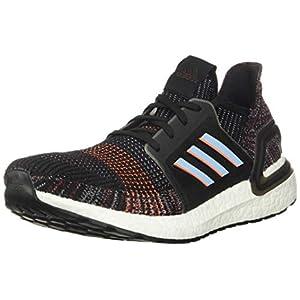adidas Men's Ultraboost 19 Running Shoe, black/glow Blue/Black, 11.5 M US