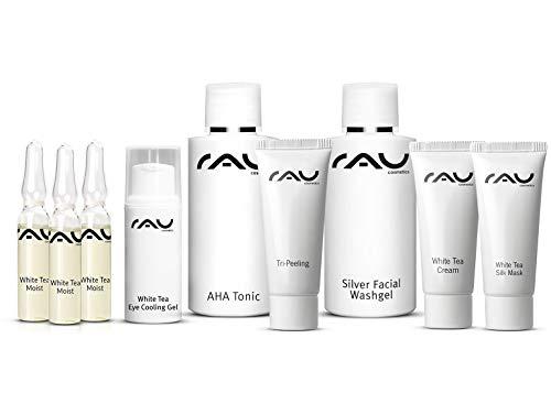RAU Cosmetics Schnupper-Set - White Tea - Pröbchenmix zum Reinschnuppern - Produktproben, Travel Size, Mini Set
