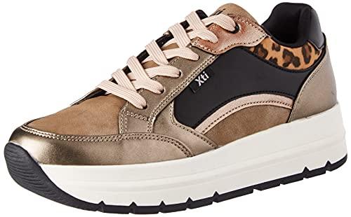 XTI 43127, Zapatillas Mujer, Bronce, 38 EU