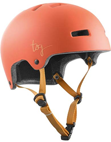TSG Ivy Solid Color Helm Damen Satin Light Papaya 2020 Fahrradhelm