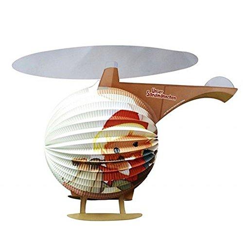Unbekannt Motiv Laterne | Hubschrauber | 46,0 x 35,0 cm | Sandmann | Kinder Lampion