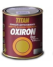 Titan M68854 - Esmalte liso oxiron 750 ml blanco