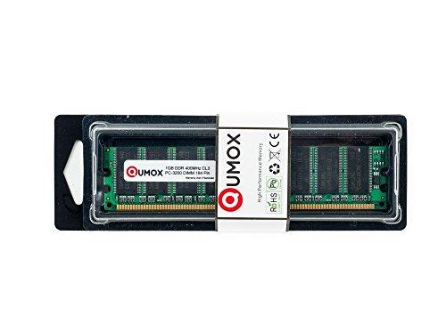 QUMOX 1GB DDR DIMM (184 PIN) 400Mhz PC3200 Desktop Memory Speicher