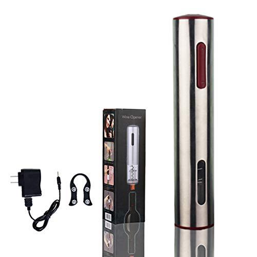 LTLWSH Sacacorchos Electrico,Profesional Automatico Abrelatas de Vino,Recargable por Set de Regalo, Abridores...