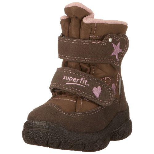 Superfit 5-062-11 - Botas de Tela para niña, Color marrón, Talla 20