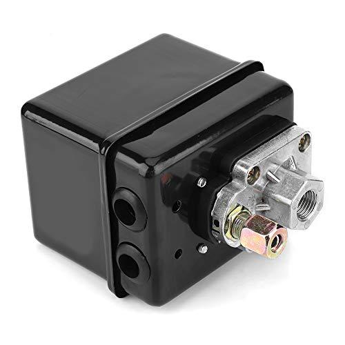 LANTRO JS - Interruptor de control de presión del compresor de aire, válvula de control de presión de accesorios de compresor de aire de gama alta 220 V 16A