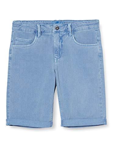 NAME IT Jungen Nkmryan Twiizza Long Camp Shorts, Marina, 116