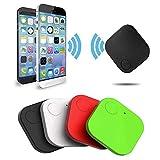Traqueur Bluetooth, Mini Traceur GPS pour Enfants - Mini clé de localisation - Voiture et Animaux de Compagnie,De Recherche GPS Localisateur D'Objets, Localisateur d'Article Bluetooth. (Noir)