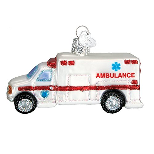 Ambulance Christmas Tree Ornament
