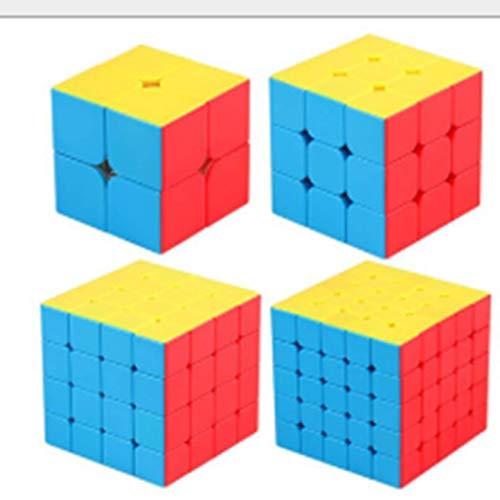 WJHH Magic Cube Speed Puzzle 2. 3. 4. Pyramid Cube Vierteiliges Kinderspielzeug