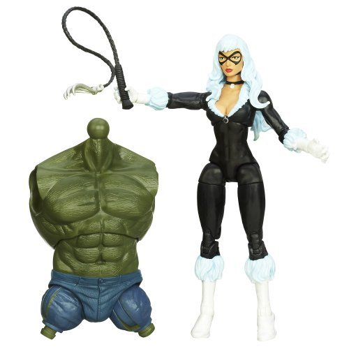 Marvel The Amazing Spider-Man 2 Marvel Legends Infinite Series Skyline Sirens Action Figure Black Cat, 6 Inches by Spider-Man
