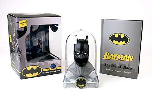 Batman Deluxe Cowl Lights Up