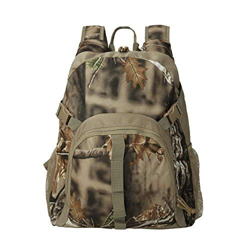 Camo Hunting Backpack Camouflage Bag Waterproof Day Pack for Fishing Hiking Camping