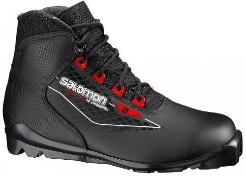 Salomon Escape 4 Langlaufschuh (Schuhgröße: 42 2/3 = UK 8.5, Farbe: schwarz)