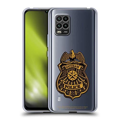 Head Case Designs Licenciado Oficialmente Batman: Arkham Knight Insignia de policía de Ciudad Gótica Gráficos Carcasa de Gel de Silicona Compatible con Xiaomi Mi 10 Lite 5G