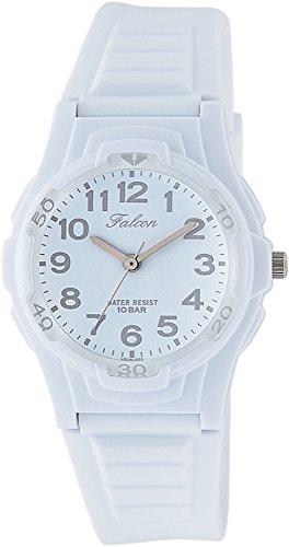 [シチズン Q&Q] 腕時計 アナログ 防水 ウレタンベルト VS06-003 ホワイト グレー