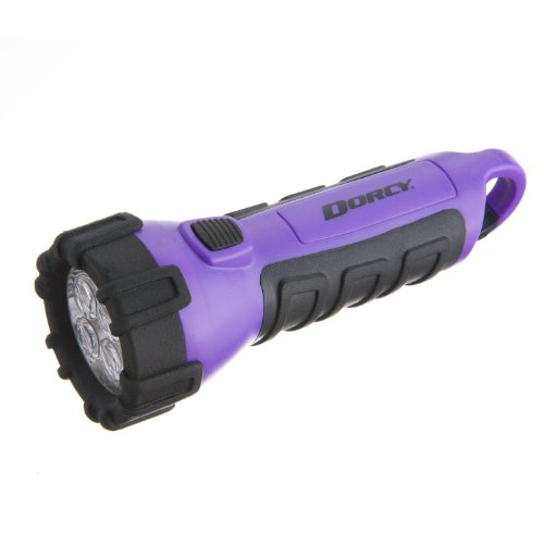 Dorcy Waterproof Floating LED Flashlight with Carabiner Clip
