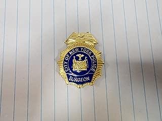 NYPD Surgeon Pin - 2016 NYPD PBA - NYC Police Surgeon Pin