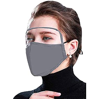 Amazon - Save 60%: Cotton Dustproof Outdoor Face Protective Face Guard with Eyes Shield,Anti Poll…