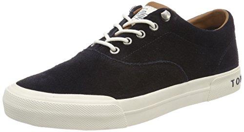 Tommy Hilfiger Heritage Suede Sneaker, Zapatillas Hombre, Azul (Midnight 403), 43 EU