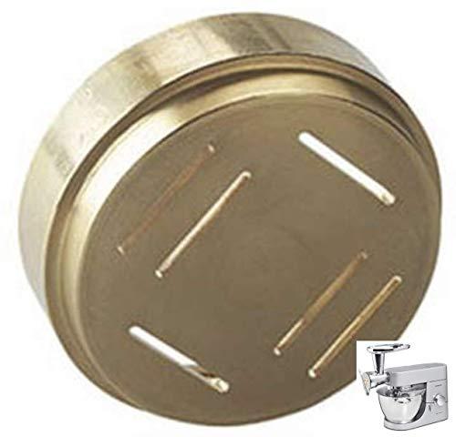 Trafila Pappardelle Originale realizzata in Bronzo opzionale Torchio Pasta per Planetarie Impastatrici Kenwood
