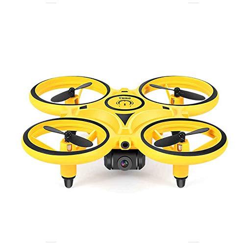 UFO Drone Toy Helicopter RC Quadcopter para niños, 3 en 1 2.4Ghz Transmisión en tiempo real Luces LED, Rotación de alta velocidad Giroscopio de 6 ejes Modo sin cabeza Rollo de 360 ° Juguetes el