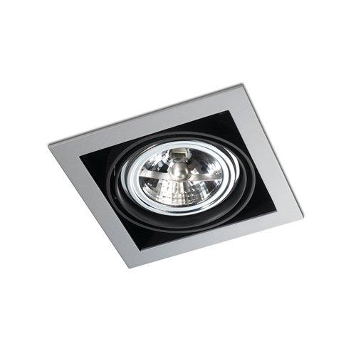 LEDs-C4 DM 0053-N 3-00-Encastrement multidir 1xgu5,3 50 W Noir Laqué