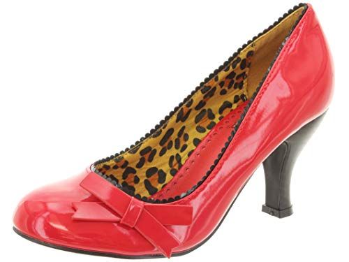 Banned Retro Pumps Dragonfly BND303 Rot 36