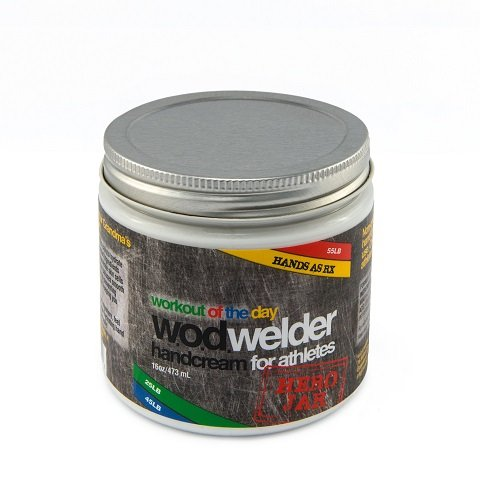 Hand Care Treatment Cream Callus Repair By WOD Welder (16 oz) - For Fitness Athletes, Gymnastics, Weightlifters, and Rock Climbing - Heals Rips and Tears, Speeds Recovery - Essential Oils