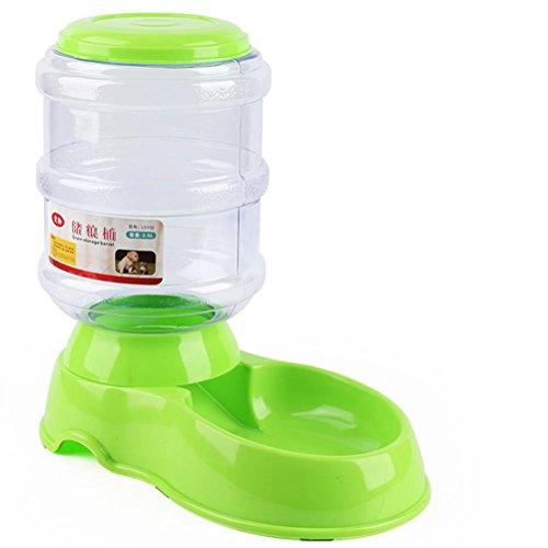 POPETPOP Automático Comedero para Mascota, Gatos y Mascotas Dispensador de Comidas, Alimentador de Gatos Perros, Dispensador de Comida para Gatos y Perros 3.5L (Verde)