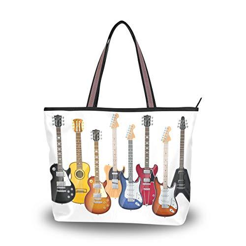 Ahomy - Bolsa de hombro para guitarras eléctricas para exteriores, gimnasio, senderismo,...