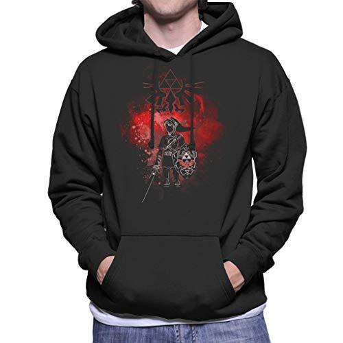 Cloud City 7 Dark Link Legend of Zelda Men's Hooded Sweatshirt